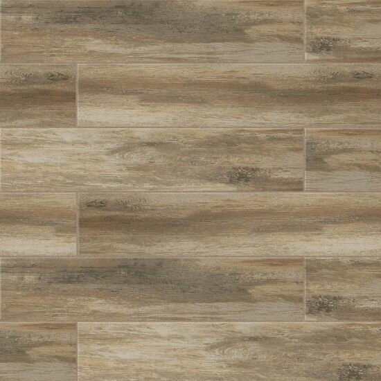 Sun Valley 8 x 36 Porcelain Wood Look Tile in Matte Ciliegia by Grayson Martin