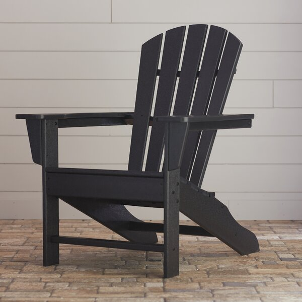 Palm Coast Plastic/Resin Recycled Plastic Adirondack Chair by POLYWOOD POLYWOOD®