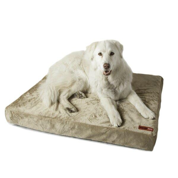 Luxury Orthopedic Foam Dog Bed by Posh365