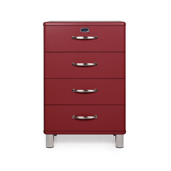Malibu 4 Drawer Chest by Tenzo