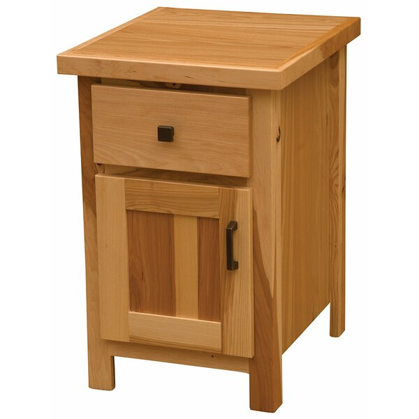 Simply 1 Drawer Nightstand by Fireside Lodge