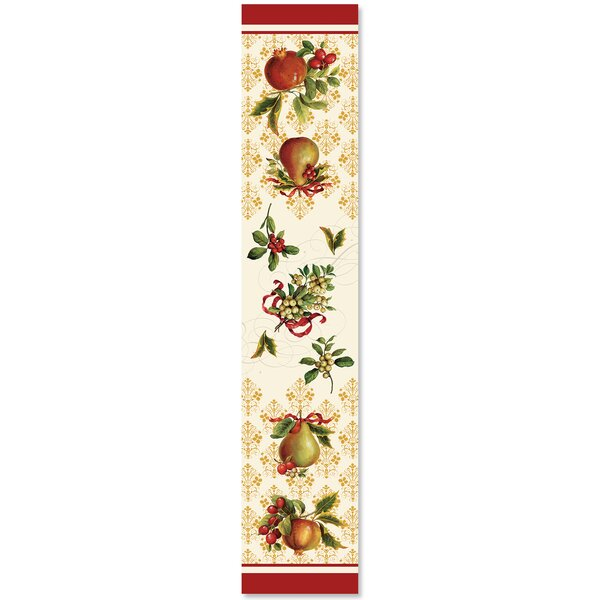 Pandya Festive Opulence Table Runner by August Grove