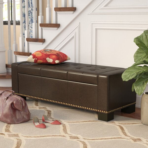 Davers Fabric Storage Bench by Alcott Hill