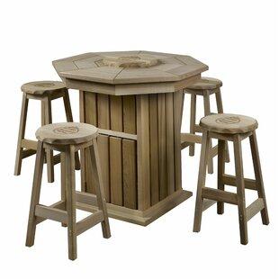 5 Piece Pub Table Set ByCorona