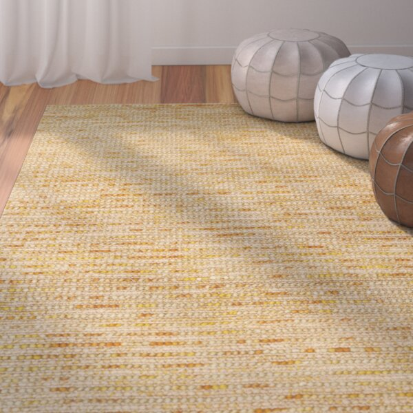 Makhi Gold Area Rug by Mistana