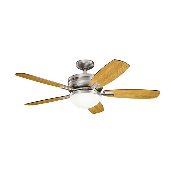 52 Rhames 5 Blade LED Ceiling Fan by Latitude Run