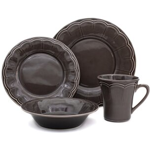Naperon 32 Piece Dinnerware Set Service for 8  sc 1 st  Wayfair & Made In Portugal Dinnerware   Wayfair