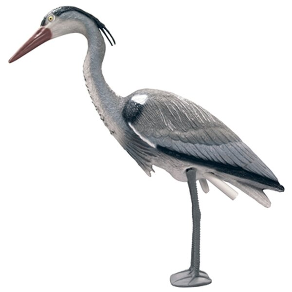 Blue Heron Decoy with Legs by Complete Aquatics