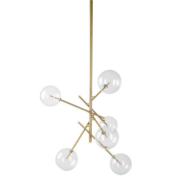 Ledya 6-Light Sputnik Chandelier by Brayden Studio