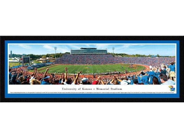 NCAA Kansas, University of by James Blakeway Framed Photographic Print by Blakeway Worldwide Panoramas, Inc