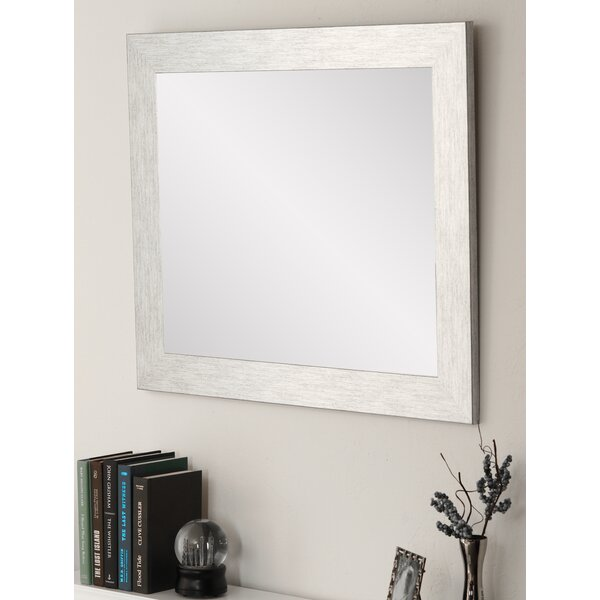 Samual Farmhouse Charm Rustic Accent Mirror