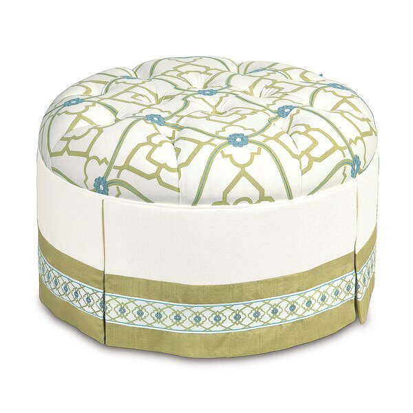 Bradshaw Tufted Ottoman by Eastern Accents