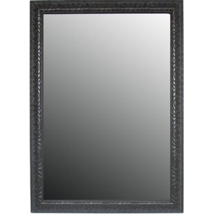 Reviews Classic Aged Floral Accents Wall Mirror By Second Look Mirrors