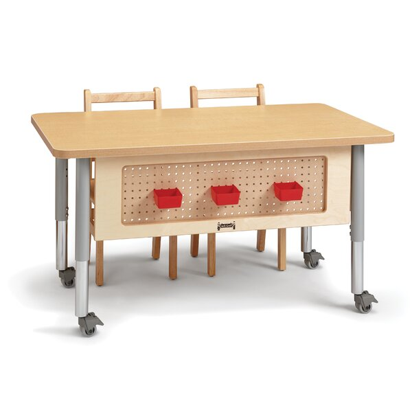 48cm L x 30cm W Rectangular Activity Table by Jonti-Craft