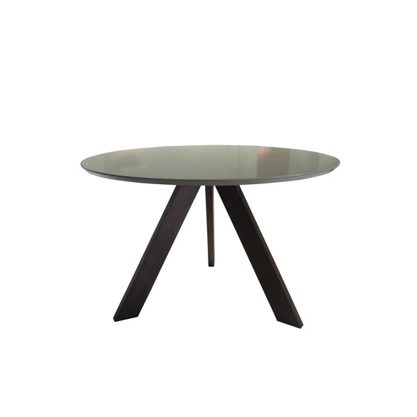 Ramsay Mid Century Modern Solid Wood Dining Table by Wrought Studio