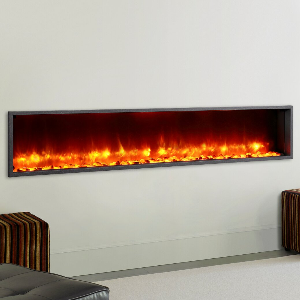 Dynasty 79 Built In Led Wall Mount Electric Fireplace Insert Reviews Wayfair