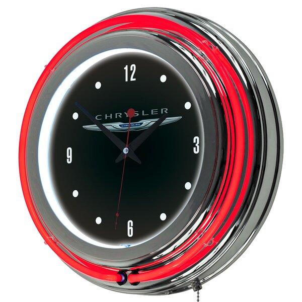 Chrysler Neon 14.5 Wall Clock by Trademark Global