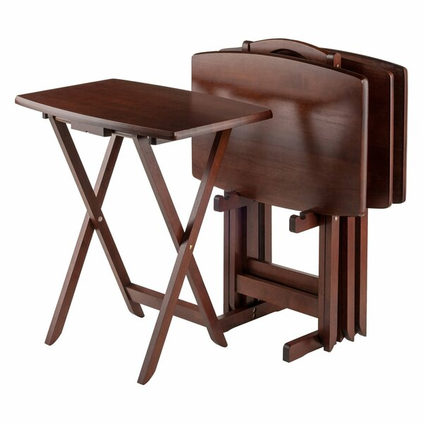 Dylan 5 Piece Tray Table Set