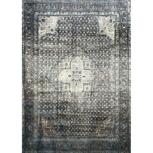Pascoe Blue/Grey & Silver Area Rug by Mistana