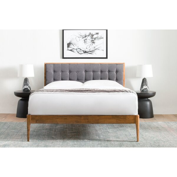 Adrienna Upholstered Platform Bed by Modern Rustic Interiors