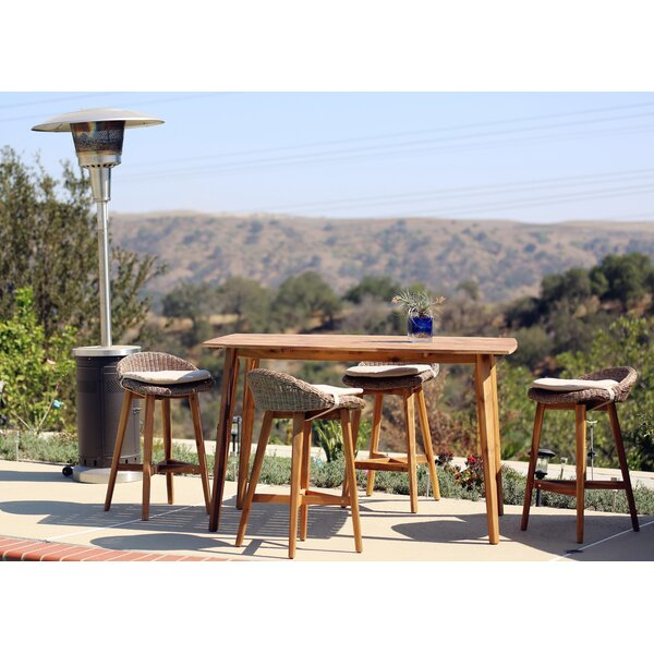 Androscogin 5 Piece Bar Height Dining Set By Darby Home Co