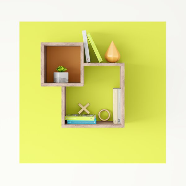 Tennison Modern Wall Shelf by Hashtag Home