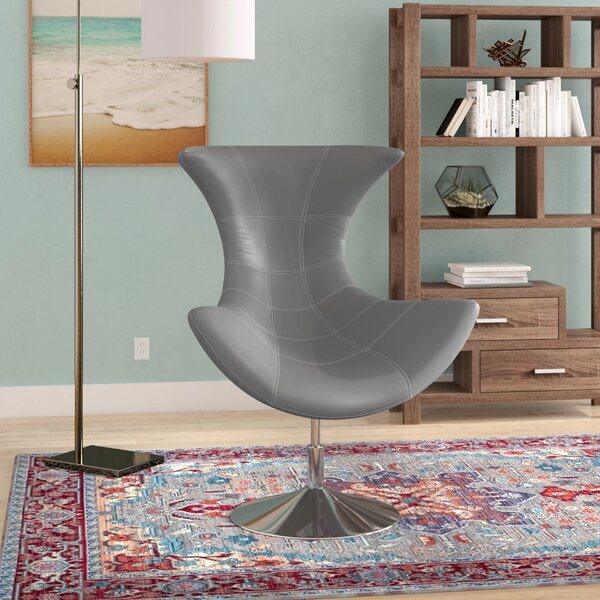 Campos Swivel Lounge Chair by Wade Logan