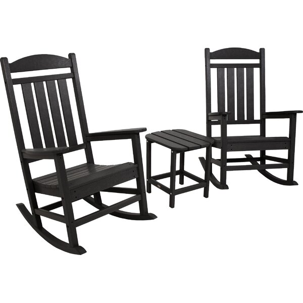 Presidential Rocking Chair 3 Piece Seating Group by POLYWOOD POLYWOOD®