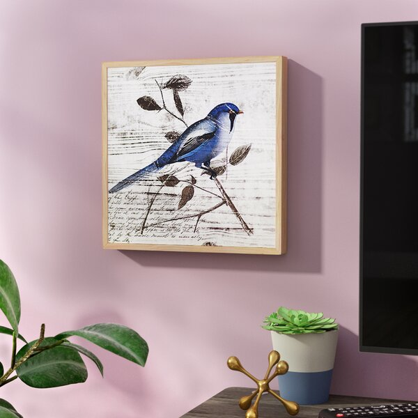 Blue Birds Wall Art I by Birch Lane™