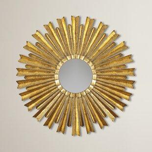 Willa Arlo Interiors Birksgate Sunburst Accent Mirror
