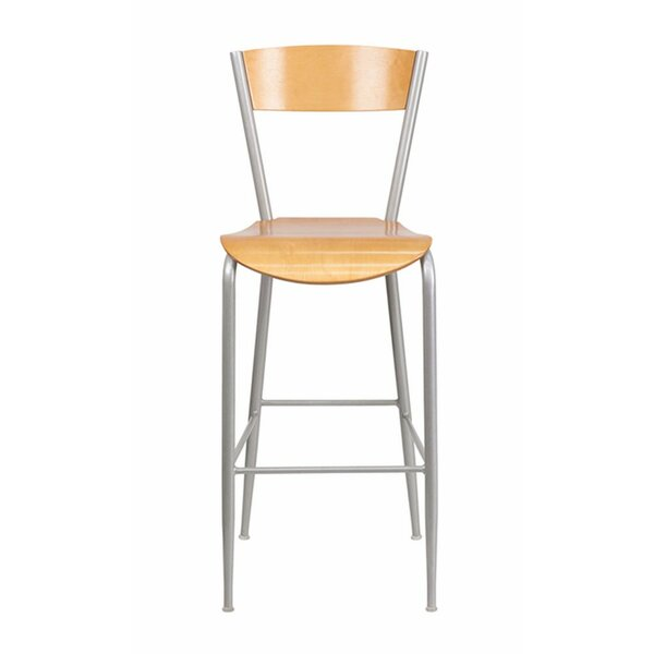 Invincible 29.5 Bar Stool by OffexInvincible 29.5 Bar Stool by Offex