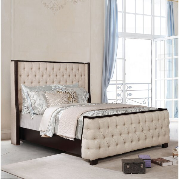 Akridge Upholstered Platform Bed by Darby Home Co