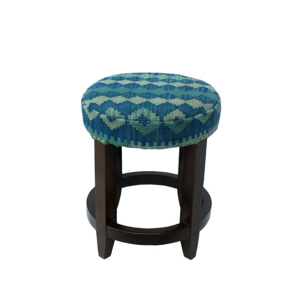 Corda Accent Stool by Bungalow Rose