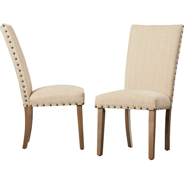 Mirmande Parsons Upholstered Dining Chair (Set Of 2) By Lark Manor Purchase