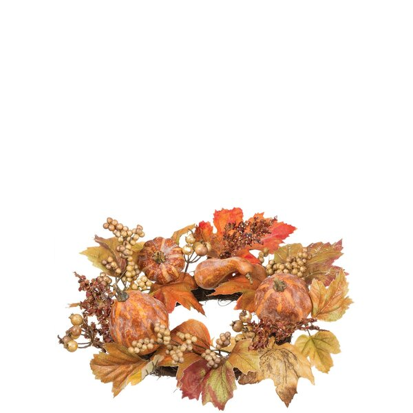 Autumn 16 Plastic Wreath by The Holiday Aisle