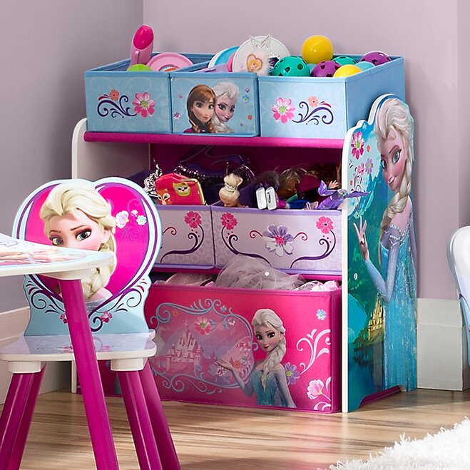 6. Use Appealing Colors and Characters & 9 Ways to Keep Your Kidsu0027 Room Organized | Wayfair