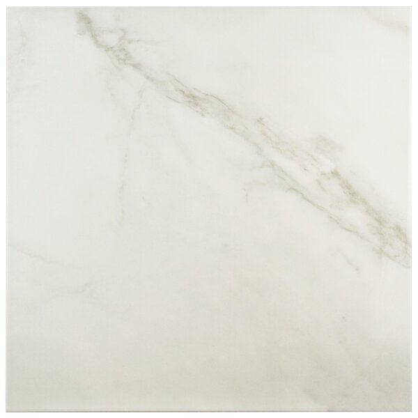 Valens 17.75 x 17.75 Ceramic Field Tile in Blanco by EliteTile
