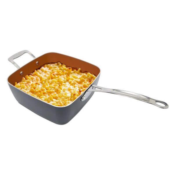 Deep Square 4 Piece 11 Non-Stick Frying Pan/Skille