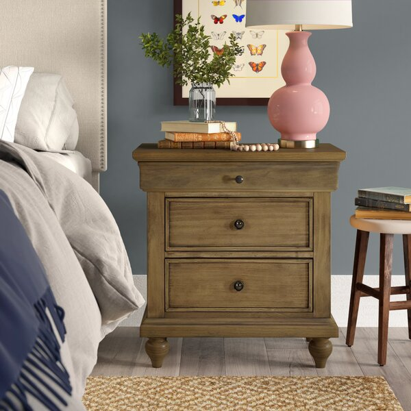 Ailey 2 Drawer Nightstand by Birch Lane™ Heritage