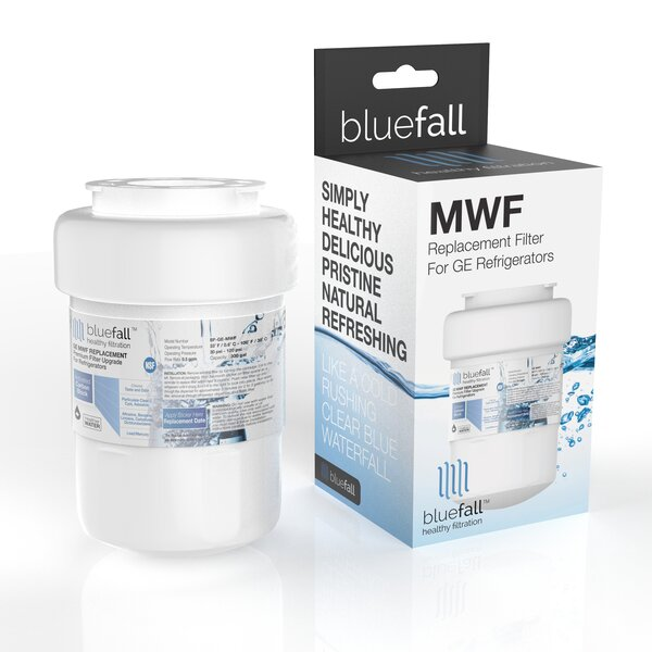 Bluefall GE MWF SmartWater Compatible Refrigerator Replacement Filter by Drinkpod USA