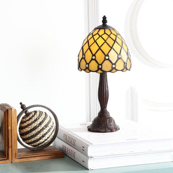 Ostler Tiffany 12.5 Table Lamp by Loon Peak