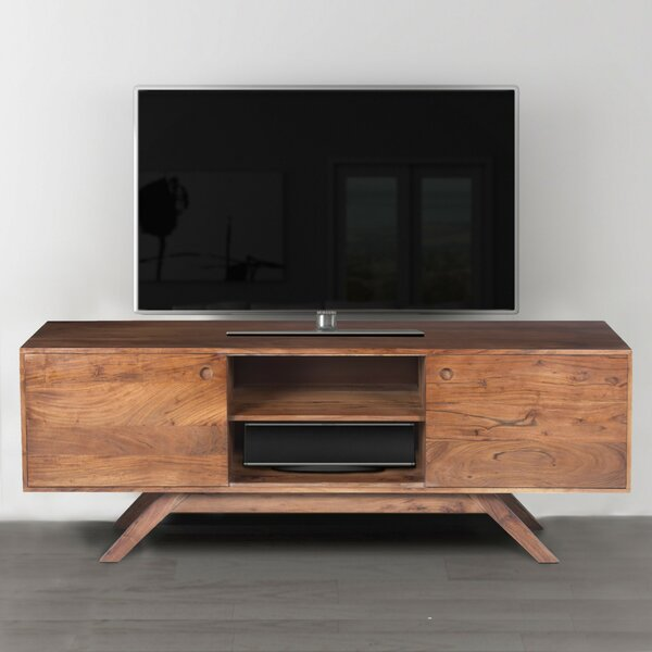 Rider Acacia Wood TV Stand for TVs up to 62