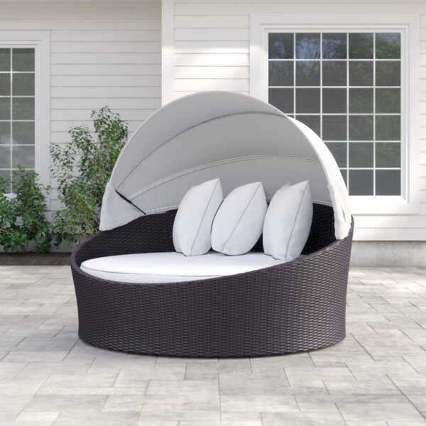 Brentwood Canopy Patio Daybed with Cushions by Sol 72 Outdoor
