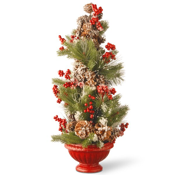 Holiday Tree in Urn by National Tree Co.