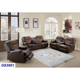 Vanalstyne 3 Piece Reclining Living Room Set (Set of 10) by Red Barrel Studio®