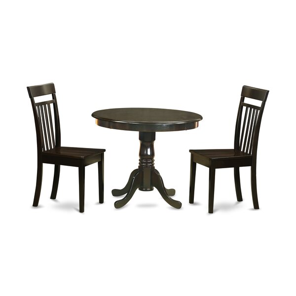 3 Piece Dining Set By East West Furniture New