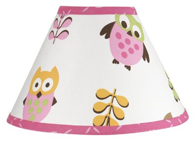 Happy Owl 7 Empire Lamp Shade by Sweet Jojo Designs