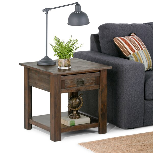 Laforce End Table with Storage by Millwood Pines Millwood Pines
