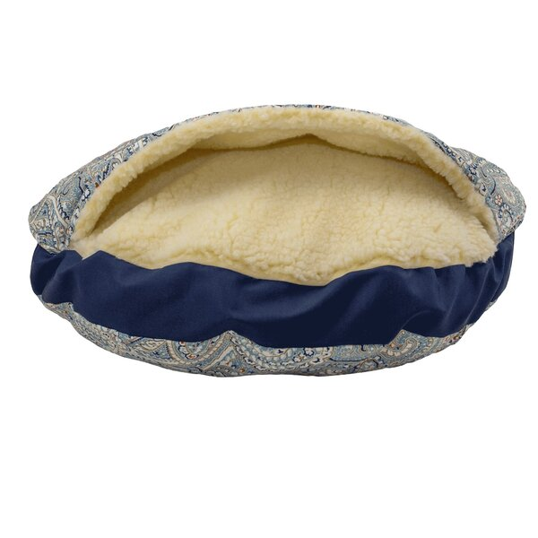 Wag Orthopedic Indoor/Outdoor Cozy Cave Hooded Dog Bed by Snoozer Pet Products