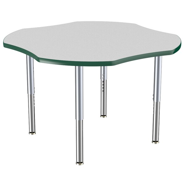 Clover Thermo-Fused Adjustable 48 x 48 Novelty Activity Table by ECR4kids